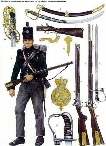 1812 British Army. 95th Infantry Regiment. nacekomie.ru