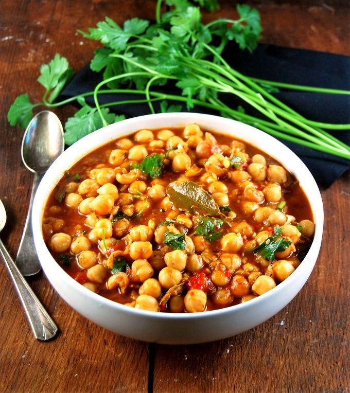 Lebanese Chickpea Stew • Holy Cow! Vegan Recipes