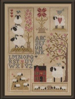 Jardin Prive' ~ Histoires de Moutons 3