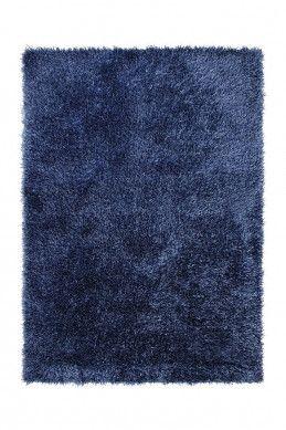 Langflor Teppich Cool Glamour Blau