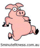 Don't be a piggy!