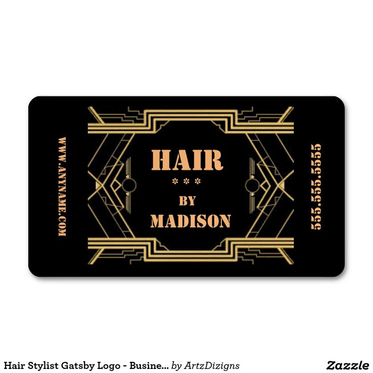 38 best business cards order here images on pinterest business elegant black and gold gatsby hair stylist business card colourmoves