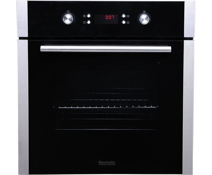Baumatic B610MC Built In Electric Single Oven - Stainless Steel