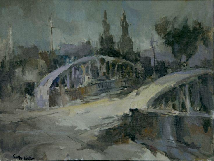 Puente Manuel Rodriguez - Óleo sobre tela