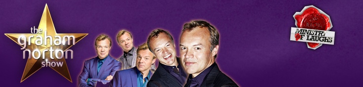 Graham Norton, The craziest chat show on earth. No REALLY!