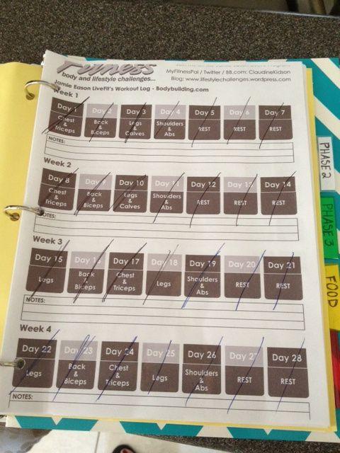 Jamie Eason 12 Week Trainer {Week 4} Jamie Eason Live Fit 12-Week Trainer (My 12 Week Recap)