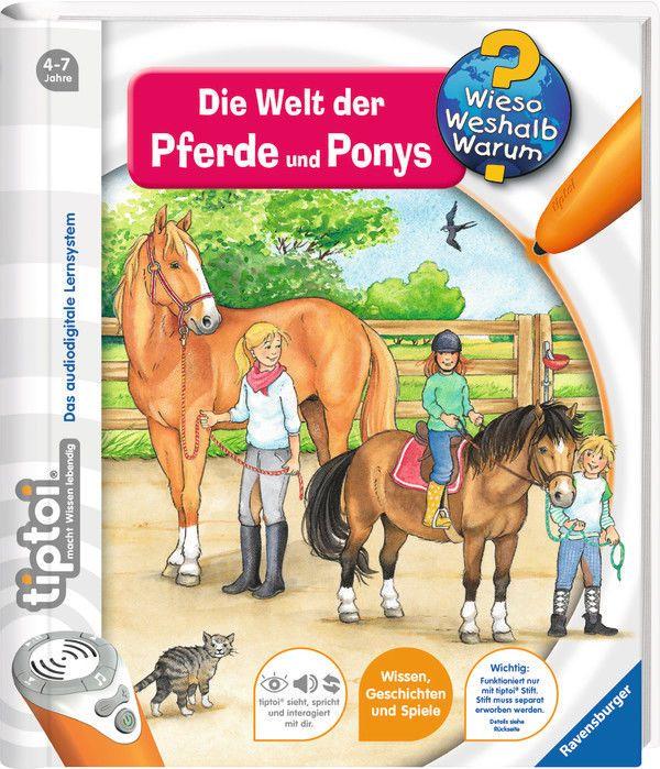Ravensburger tiptoi Buch Wieso? Weshalb? Warum? Die Welt der Pferde, Ponys 00608sparen25.info , sparen25.de , sparen25.com