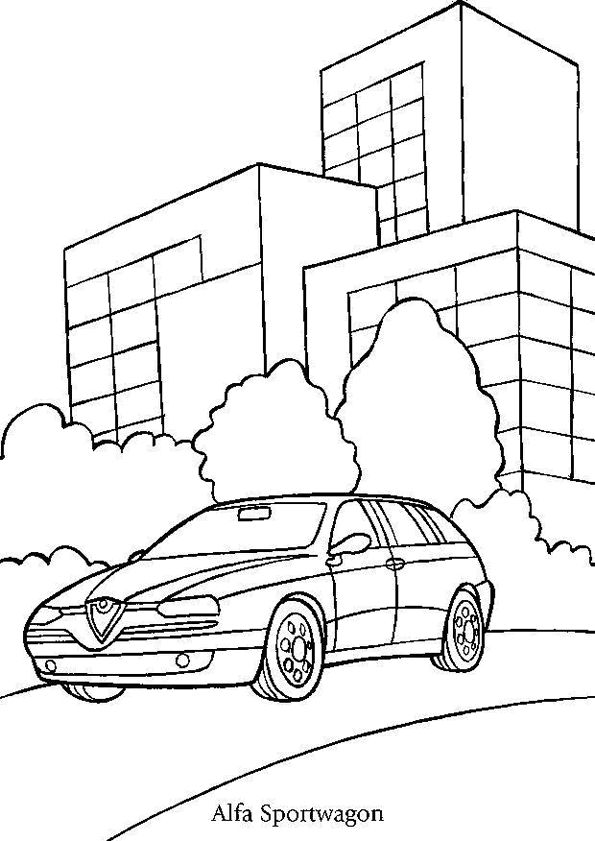 104 best coloriages de voitures images on pinterest transportation coloring pages and cars - Cars coloriage voitures ...