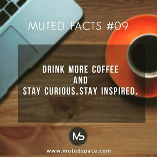 Muted facts #09 Drink more coffee !! Monday power ! Kick start with bulletproof coffee  Recipe for morning coffee in blog today :))) Stay curious stay inspired  #mutedspace#coffeelove#coffee#bulletproofcoffee#kickstart#lifestyle#health#monyay#mondaypower#lovework#mutedthoughts#visualmerchandisingdisplay#retailconsult
