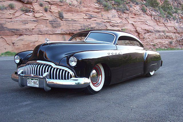 1949 buick roadmaster custom coupe barrett jackson. Black Bedroom Furniture Sets. Home Design Ideas