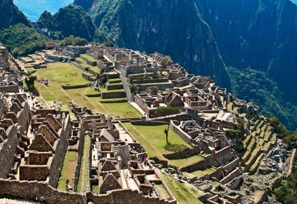 Machu Picchu, Peru    I wanna go back there some day soon!