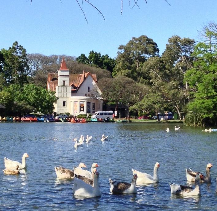Lago de Palermo. Buenos Aires.