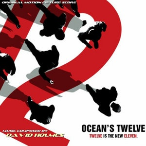this is neville Brody's poster for the movie oceans 12 and i like how its a simple and not overly complicated