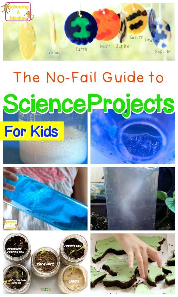 Looking for kids science projects to try? These science fair project ideas are perfect for elementary kids who love science and science activities!