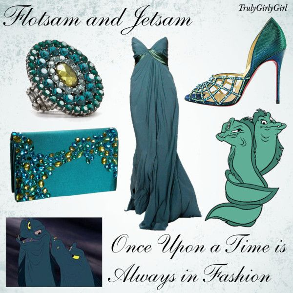 """Disney Style: Flotsam and Jetsam"" by trulygirlygirl on Polyvore"