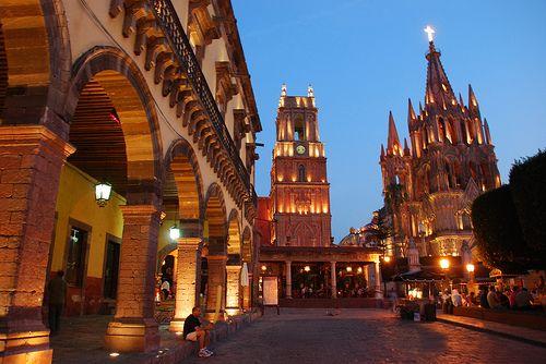 Catedral de San Miguel de Allende, Leon Guanajuato. Mexico