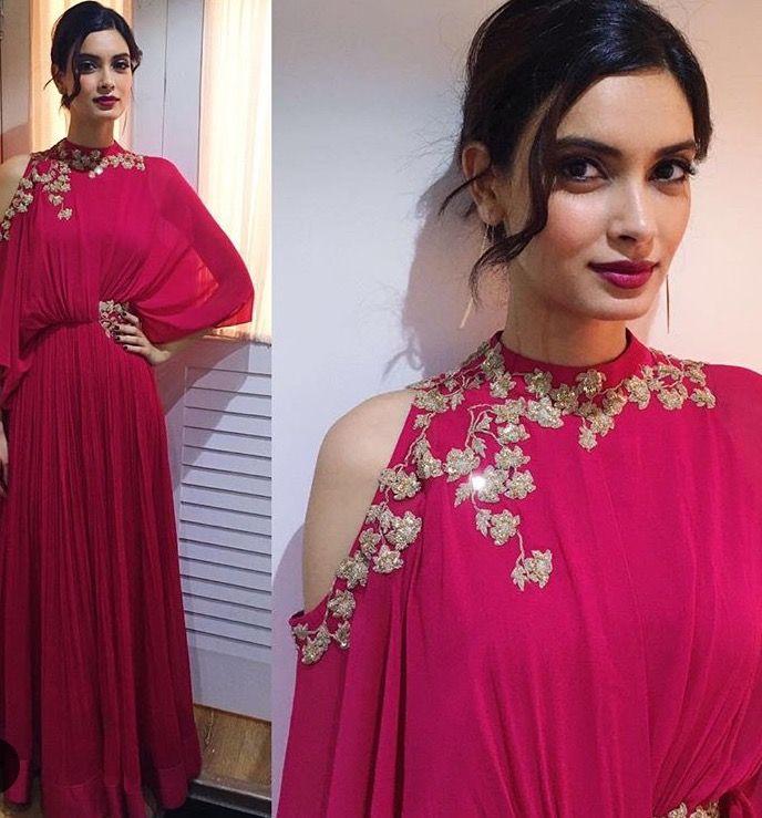 Ridhi Mehra # draped love # evening look # Diana Penty