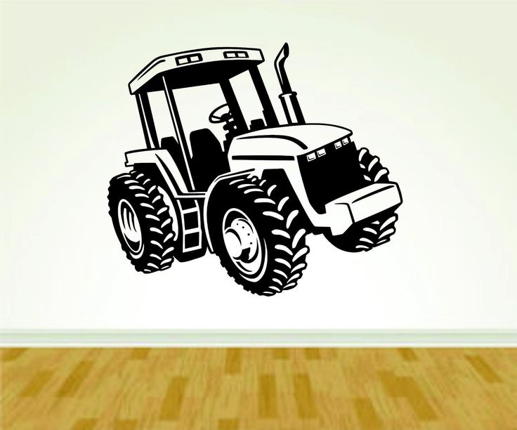 Tractor Farming Farm Version 103 Decal Sticker Wall Boy Girl Farming