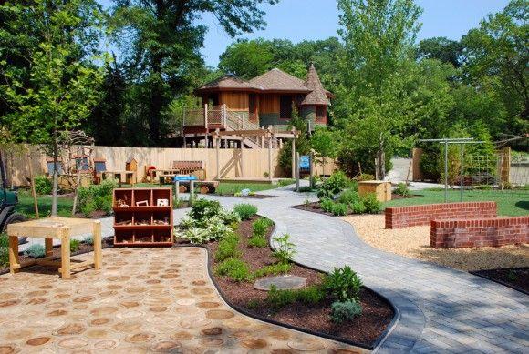 Biggest Backyard Playground :  Big Backyard, Garden, Kids Backyard, Back Yard, Backyard Playgrounds