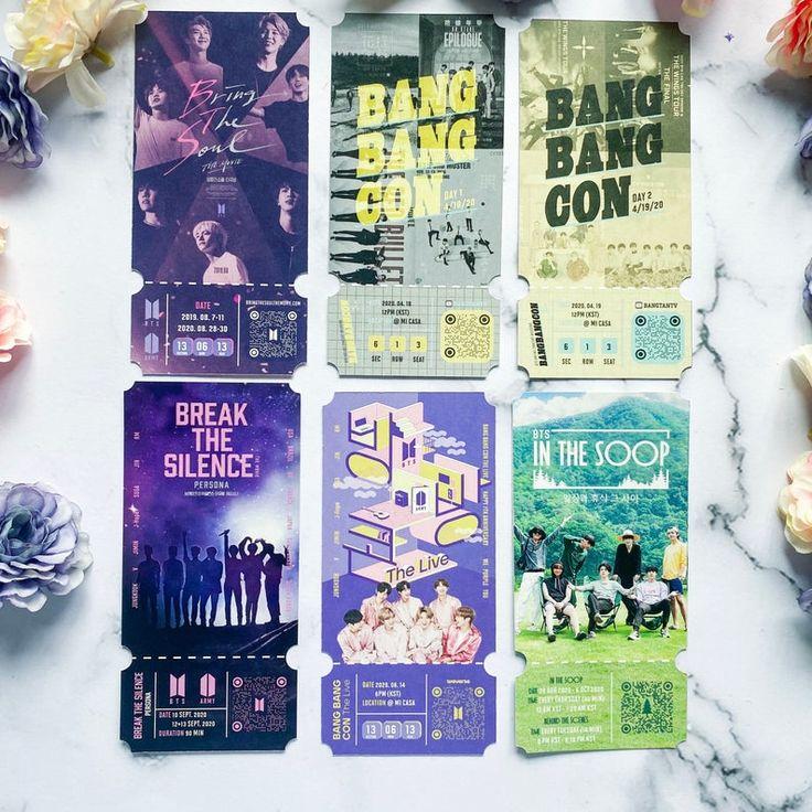 Bts ticket bring the soul bangbangcon in the soop break