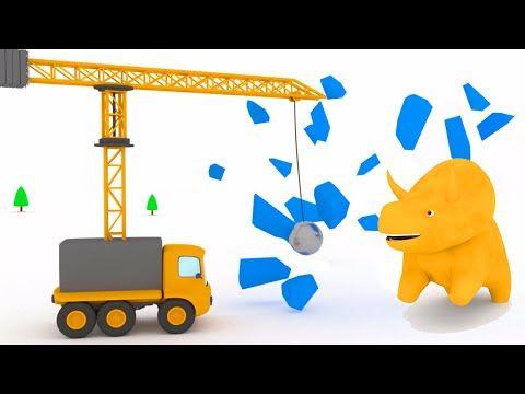 La Máquina de Garra: aprender las frutas con Dino el Dinosaurio | Aprender en español - YouTube