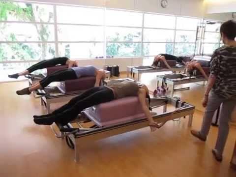 True Pilates Singapore - Teaser on the Reformer