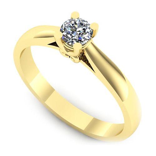 Inel logodna L83GDI cu diamant