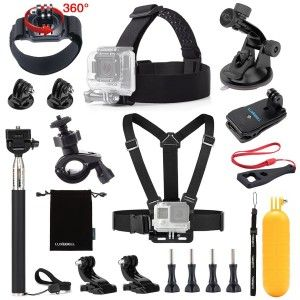 4.Top 10 Best Accessories Starter Kit for Gopro Reviews in 2016