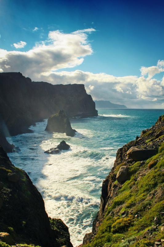Wild coast of Madeira | Portugal (by Dirk Wüstenhagen)