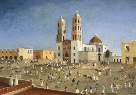 Pintura de el Día del Grito, Dolores Hidalgo.