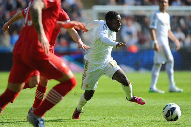Nathan Dyer against Soton