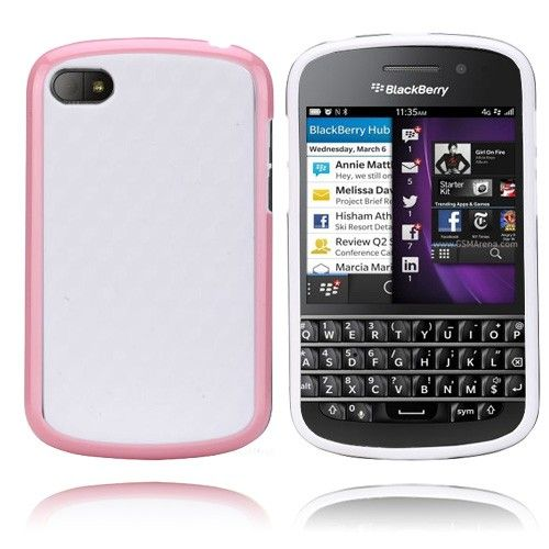 EdgeWhite (Rosa) BlackBerry Q10 Deksel