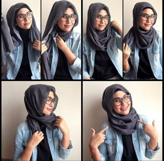 Hijab Look: Glasses