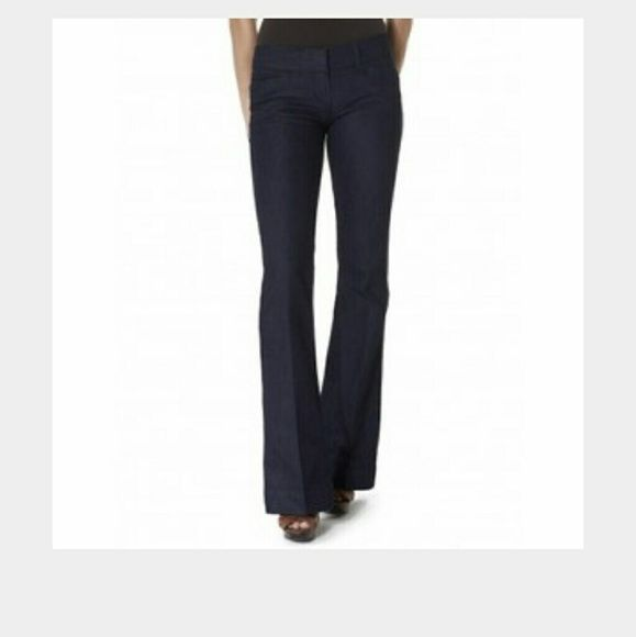 The limited 678 denim flare trouser Good condition.  Have some stretch. Size 12R The Limited Jeans Flare & Wide Leg