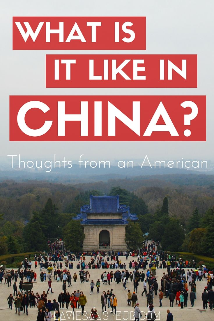 WHAT IS CHINA REALLY LIKE? Thoughts from an American living in Nanjing, China in vlog form. video blog https://www.youtube.com/watch?v=_Ecisodid2Y What its like in China tourist visit visiting live living expat life european australian white girl woman women travel traveling story experience ttot wander wanderlust explore discover shanghai beijing guangdong chengdu youtube thoughts opinions history culture culture shock people nice love country general impressions generalized...