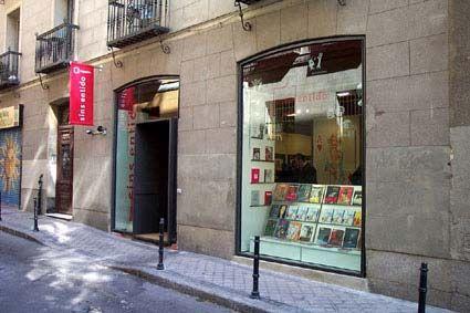 libreria madrid polosequeros arquitectos