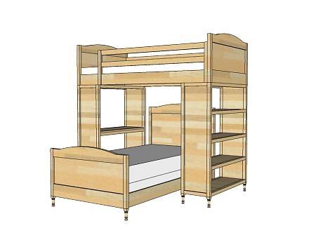 17 best kids beds images on pinterest child room bunk beds and girl rooms. Black Bedroom Furniture Sets. Home Design Ideas
