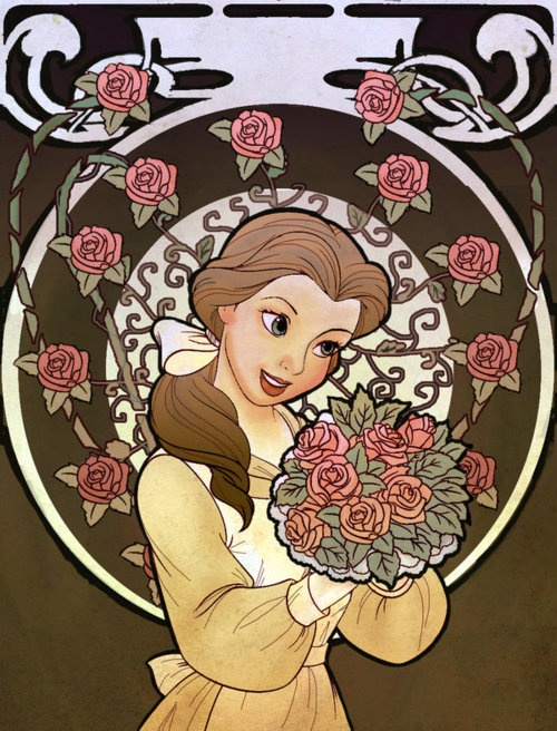 Belle ~ Artist Unknown