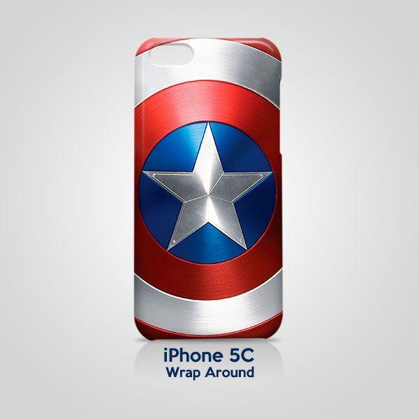Shield Captain America iPhone 5C Case Cover Wrap Around