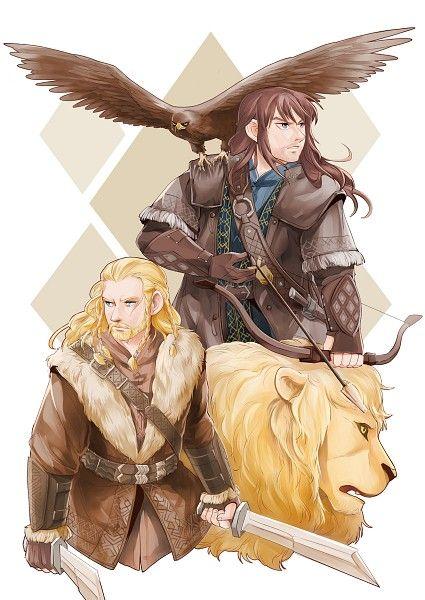Fíli, Kíli (The Hobbit), Eagle, Archery