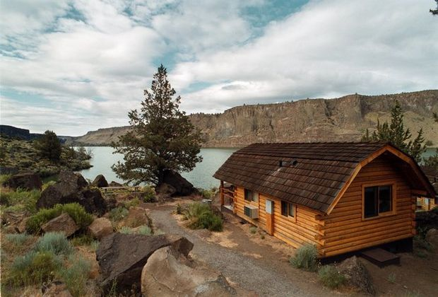 From the southern coast to the Wallowas, here are 25 places you can rent a cabin on public lands in Oregon.