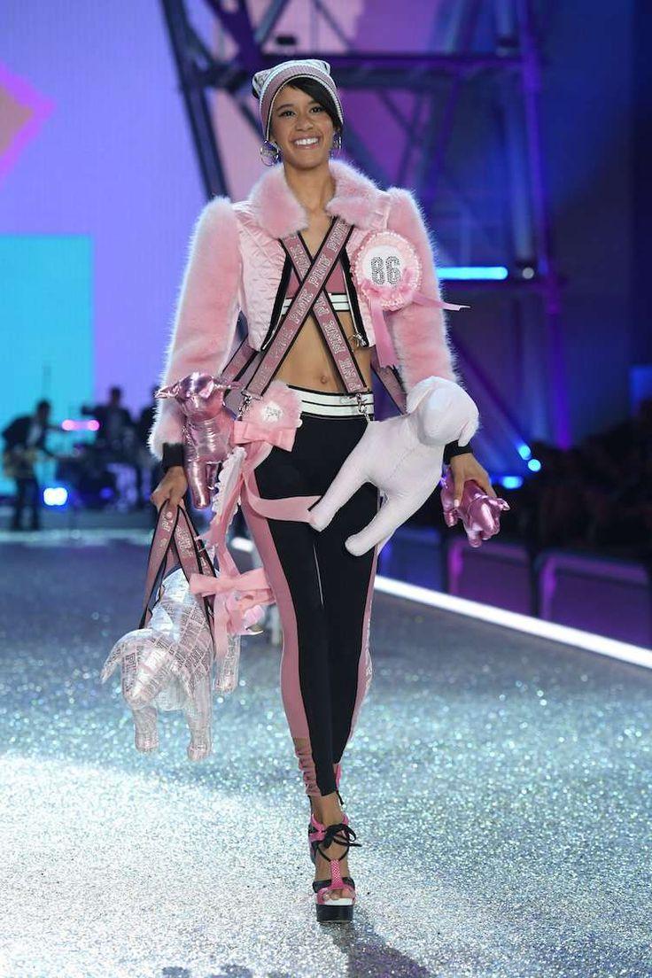 défilé Victoria Secret Dilone Long Island, New York voulait devenir actrice #victoriasecret #show #models