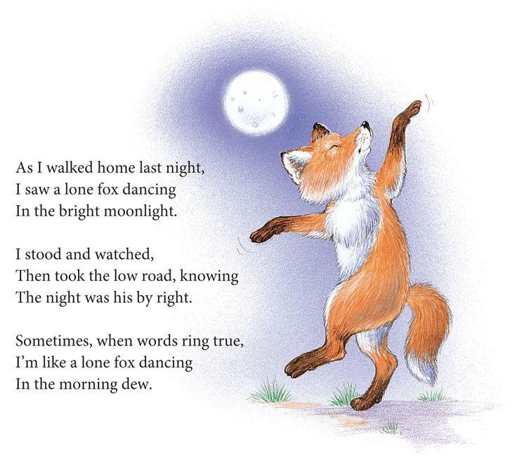 Forest Animals Poem Dancing Classroom Ideas Thanksgiving Art
