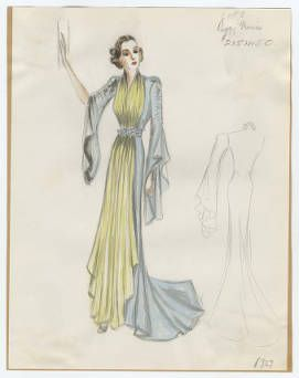 Bergdorf Goodman sketches : Morris 1932-1942 :: Costume Institute