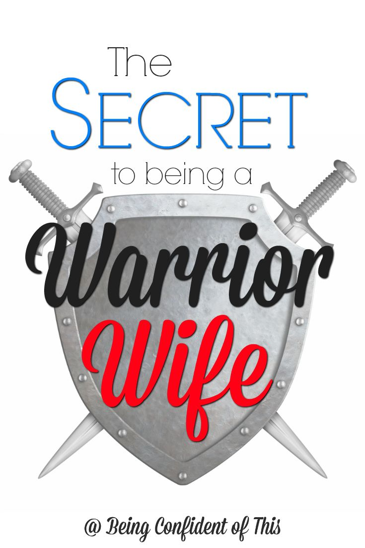 We get so caught up in busy schedules and who we think we are supposed to be that we forget our primary purpose. We leave our husbands without an ezer (helper) when they really need it most. Here's the key: being a warrior wife is not just a role...