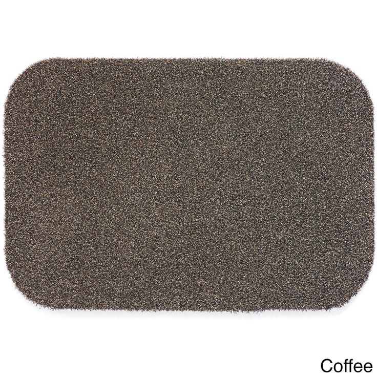 muddle mat synthetic 1u0027 115 x 2u0027 75 heavy duty all weather outdoor mat charcoal grey synthetic fiber