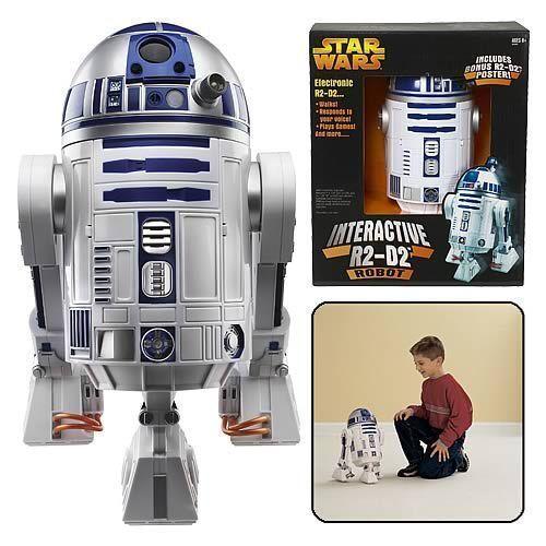 Star Wars R2D2 Interactive Astromech Droid Robot www.b-adeals.com