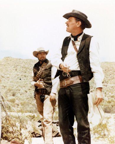 THE WILD BUNCH (1969) - William Holden & Ben Johnson - Warner Bros.