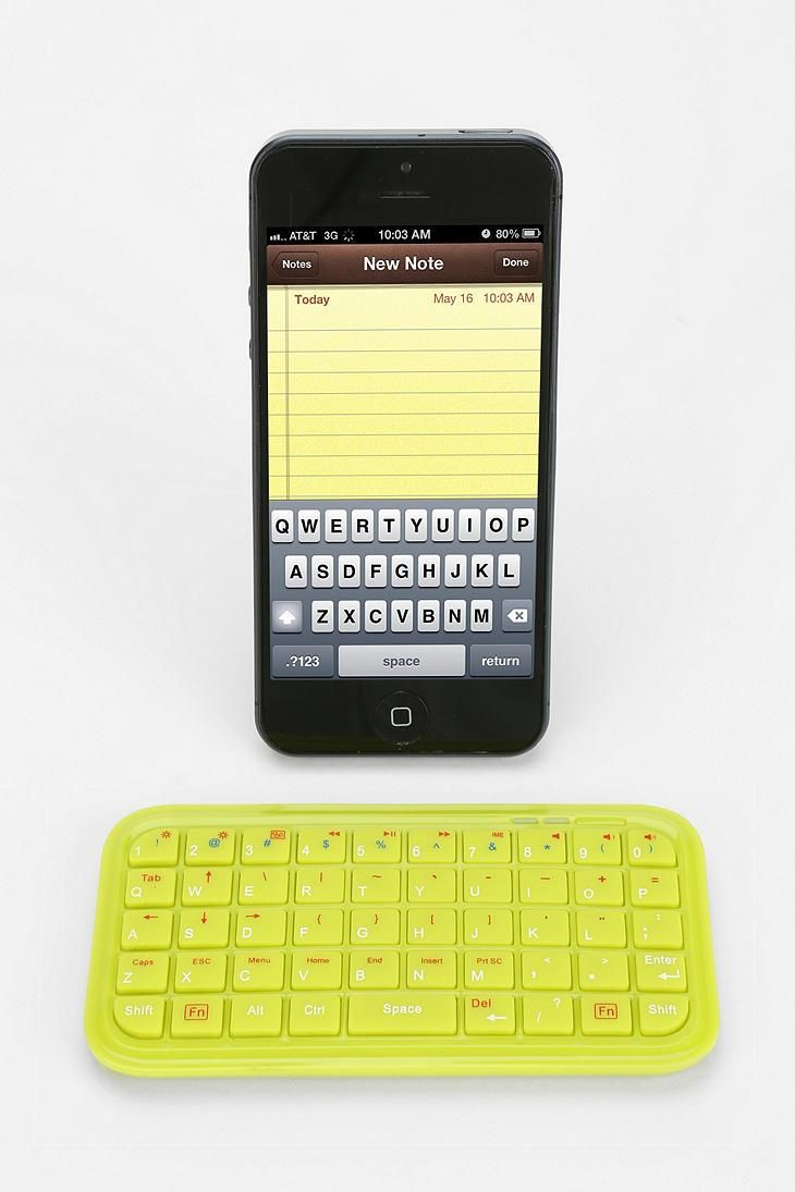 Mini Bluetooth Keyboard #urbanoutfitters