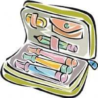 Classroom objects: interactive multiple choice exercise